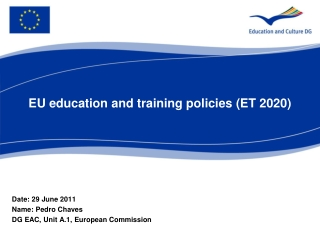 EU education and training policies (ET 2020)
