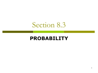 Section 8.3