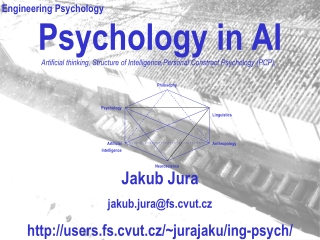 Psychology in AI