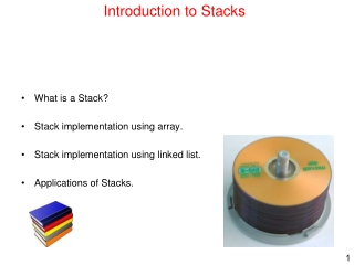 Introduction to Stacks