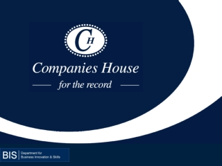 REVIEW OF THE UK REGISTER OF COMPANIES