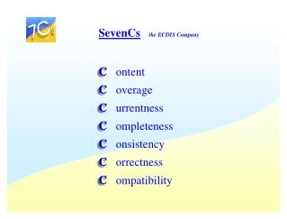 C ontent C overage C urrentness C ompleteness C onsistency C orrectness C ompatibility