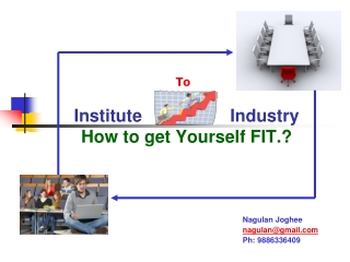 Institute  Industry How to get Yourself FIT.?