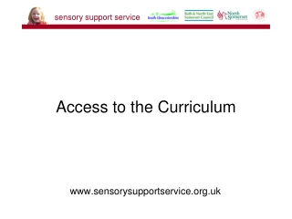 Access to the Curriculum