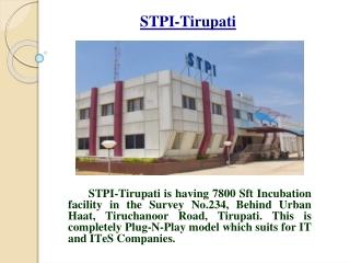 STPI-Tirupati