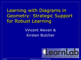 Learning with Diagrams in Geometry: Strategic Support for Robust Learning