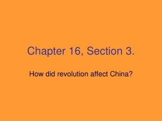 Chapter 16, Section 3.