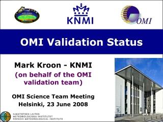 OMI Validation Status
