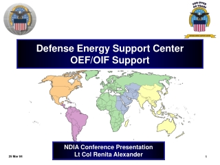Defense Energy Support Center OEF/OIF Support