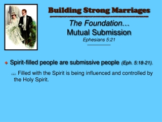Building Strong Marriages