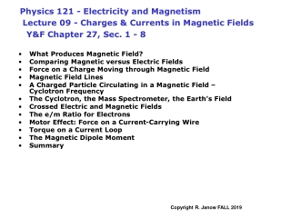 What Produces Magnetic Field? Comparing Magnetic versus Electric Fields