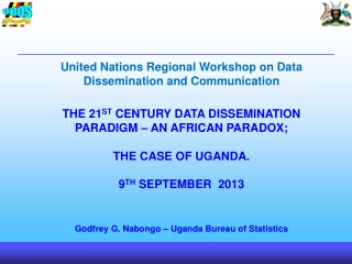 United Nations Regional Workshop on Data Dissemination and Communication