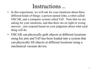 Instructions  (INT)