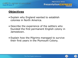 Explain why England wanted to establish colonies in North America.