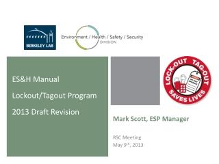 Mark Scott, ESP Manager