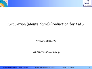 Simulation (Monte Carlo) Production for CMS