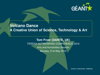 Volcano Dance A Creative Union of Science, Technology & Art