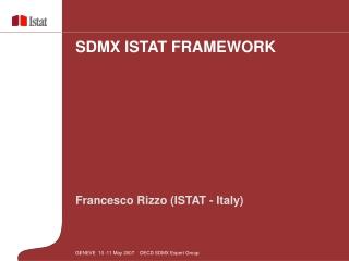 Francesco Rizzo (ISTAT - Italy)