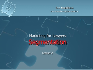 Marketing for Lawyers  Segmentation  Lesson 2