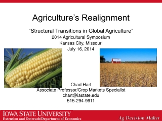 Agriculture's Realignment