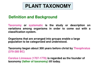 Definition and Background