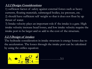 3.2.2 Design Considerations