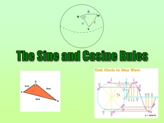 The Sine and Cosine Rules