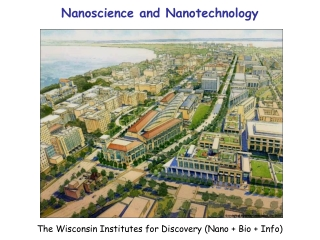 The Wisconsin Institutes for Discovery (Nano + Bio + Info)