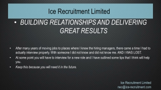 Ice Recruitment Limited