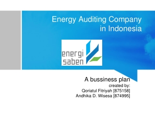 Energy Auditing Company in Indonesia