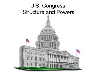 U.S. Congress: Structure and Powers