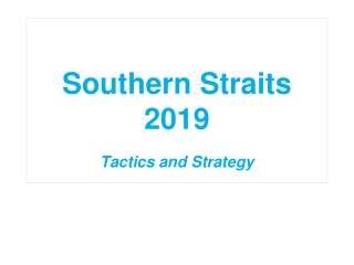 Southern Straits 2019