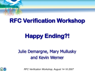 RFC Verification Workshop Happy Ending?!