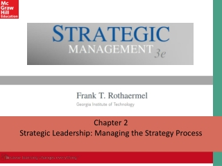 Chapter 2 Strategic Leadership: Managing the Strategy Process