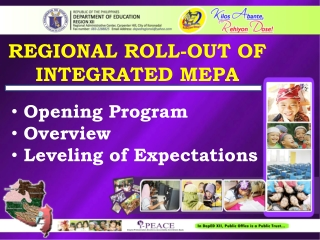 REGIONAL ROLL-OUT OF INTEGRATED MEPA