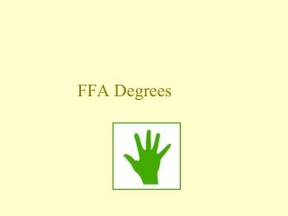 FFA Degrees