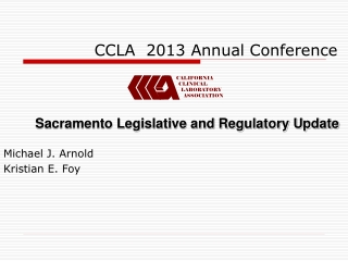 CCLA  2013 Annual Conference