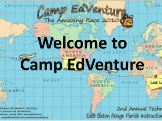 Welcome to Camp EdVenture