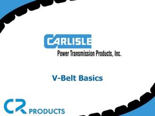 V-Belt Basics