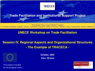 The European Union's Tacis TRACECA  program