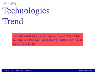 Packaging Technologies   Trend