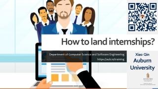 How to land internships?
