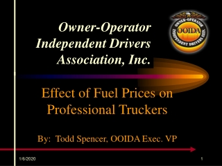 Owner-Operator Independent Drivers Association, Inc.