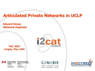 Articulated Private Networks in UCLP