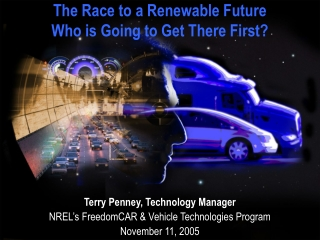 The Race to a Renewable Future Who is Going to Get There First?