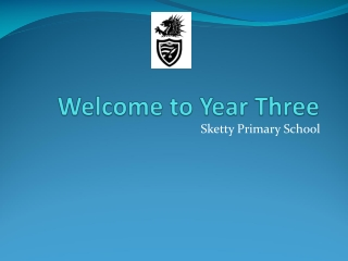 Welcome to Year Three