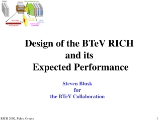 Steven Blusk for the BTeV Collaboration