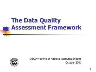 The Data Quality Assessment Framework