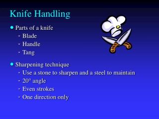 Knife Handling