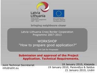 Joint Technical Secretariat info@latlit.eu